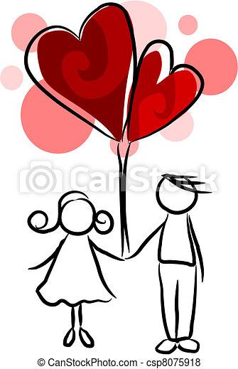 Couple in love - csp8075918