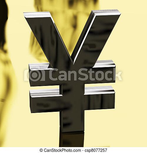 image de yen signe comme symbole pour japonaise argent ou csp8077257 recherchez des. Black Bedroom Furniture Sets. Home Design Ideas
