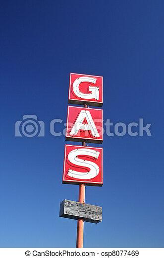 Abandoned Gas Station - csp8077469