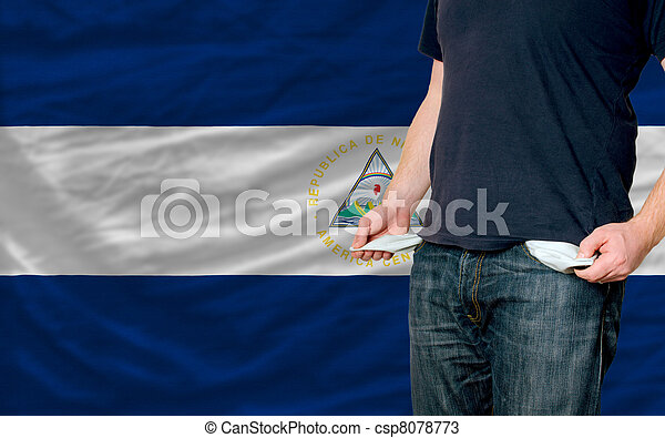 recession impact on young man and society in nicaragua