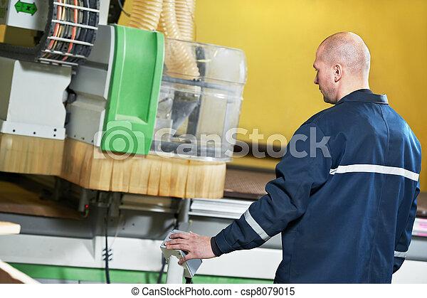worker at tool workshop - csp8079015