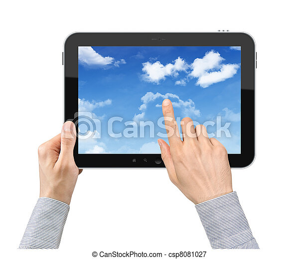 Touching Cloudscape On Tablet PC - csp8081027