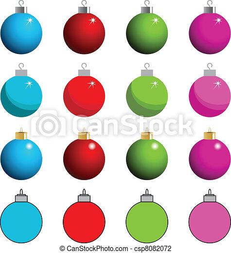 Tree Ornament Clipart - csp8082072