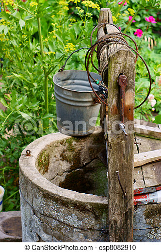 water well - csp8082910