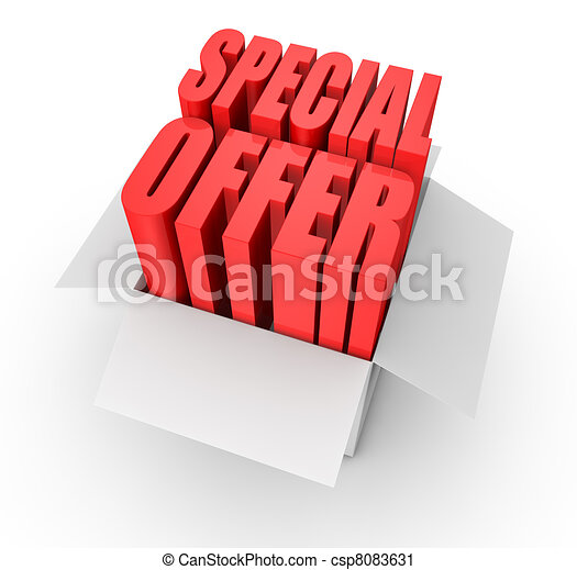 special offer - csp8083631