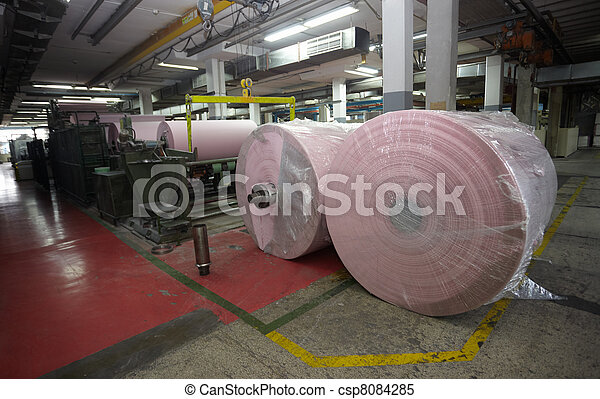 toilet paper tissue manufacturing industry - csp8084285