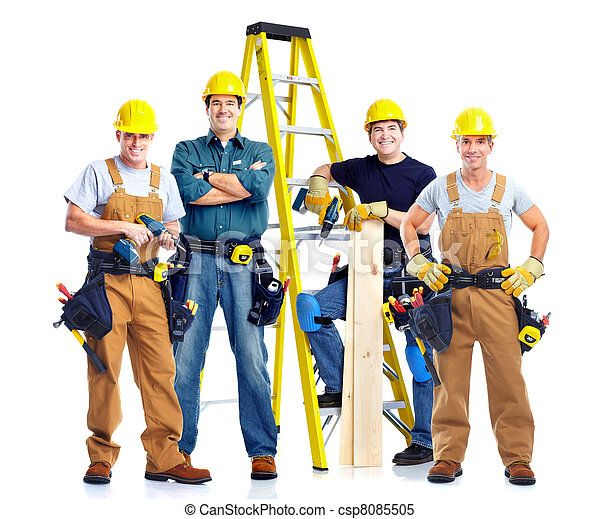 Stock images of contractor young handsome contractor in for My contractor plan