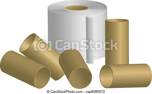 toilet paper - csp8085972