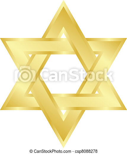 star of David - csp8088278