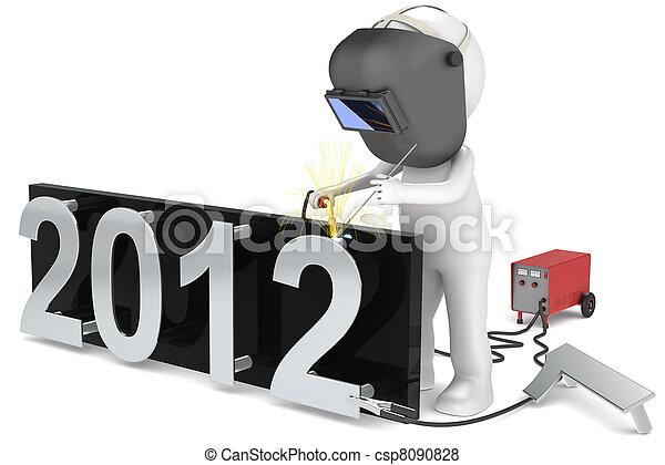 The Welder 2012 - csp8090828