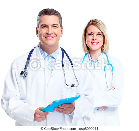 Medical doctors group. - csp8090911