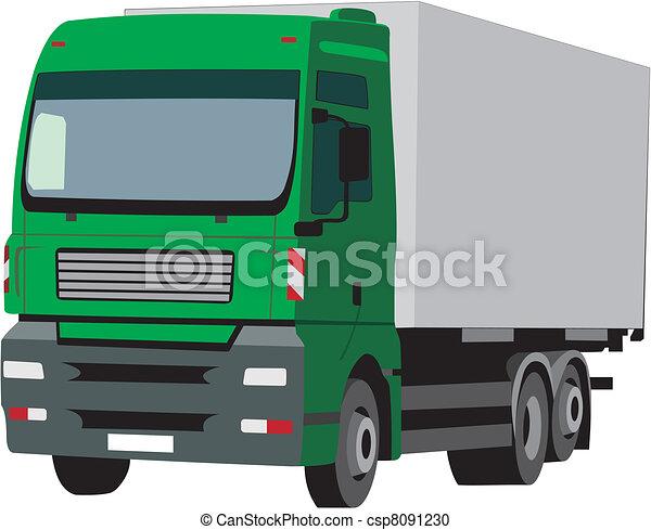 Truck - csp8091230