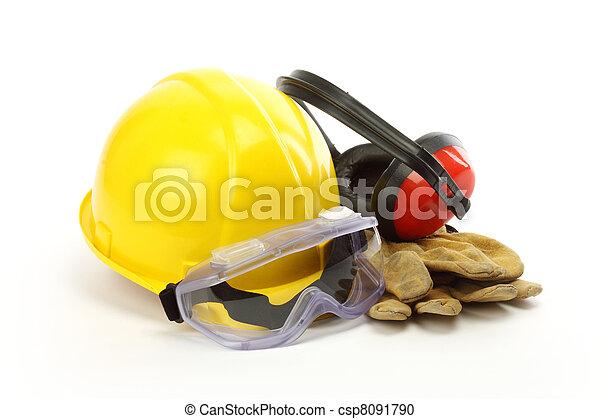 segurança, Engrenagem - csp8091790