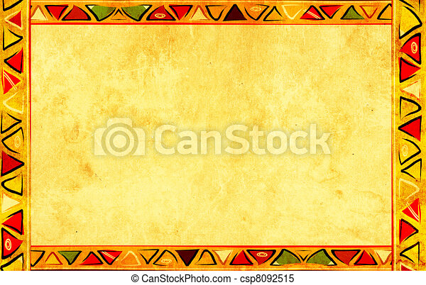 African national patterns - csp8092515