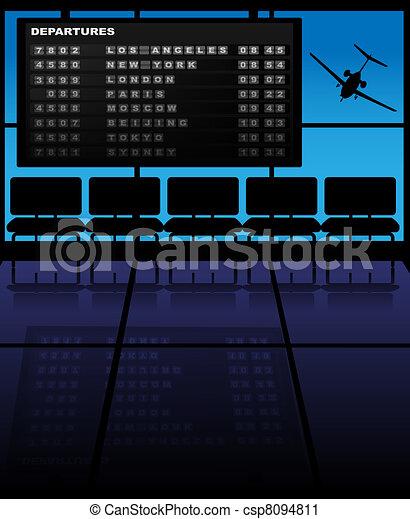 Airport - csp8094811