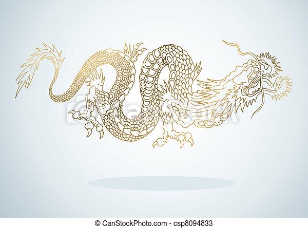 Golden Dragon - csp8094833