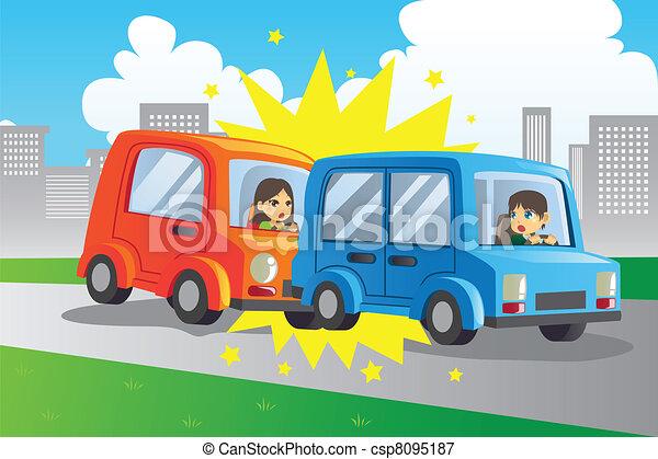 Car accident - csp8095187