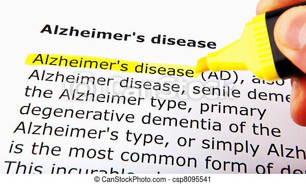 Alzheimer's disease - csp8095541