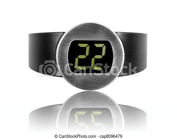 Red Wine Thermometer - csp8096479