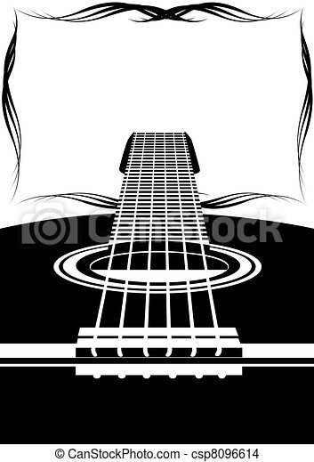 Six-string guitar - csp8096614