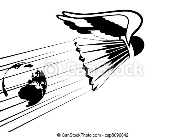 Badminton - csp8096642