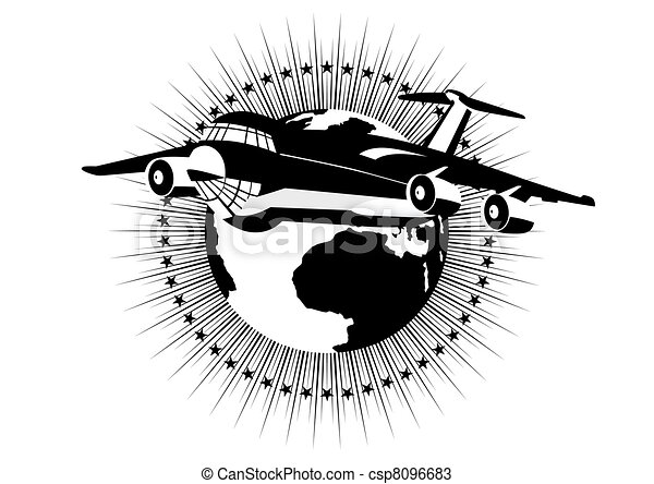 Passengers and airlines - csp8096683