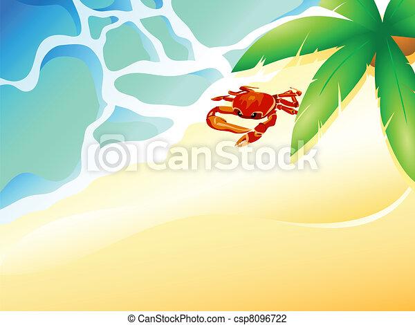 Crab beach - csp8096722