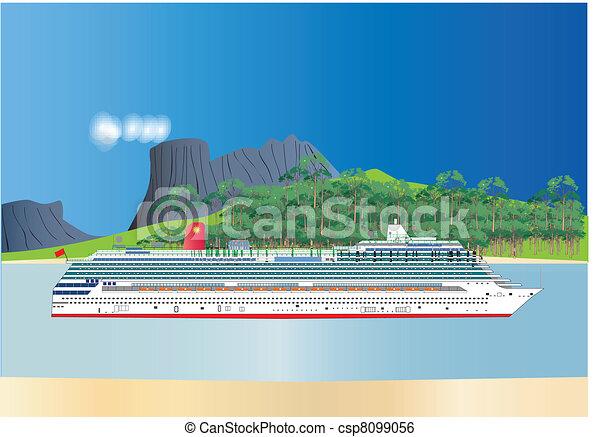 Cruise Liner - csp8099056