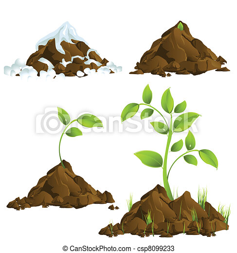 Growing plants - csp8099233