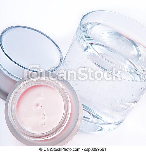 nourishing creams - csp8099561