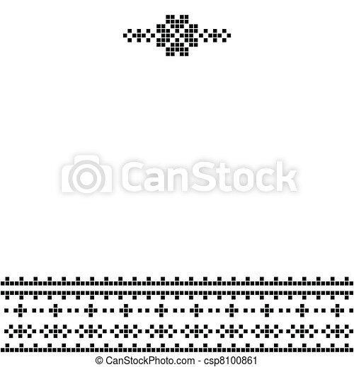 Pixel decor - csp8100861