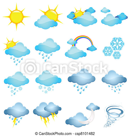 Weather Icon - csp8101482