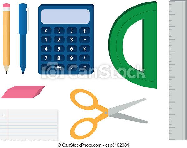 School Supplies - csp8102084