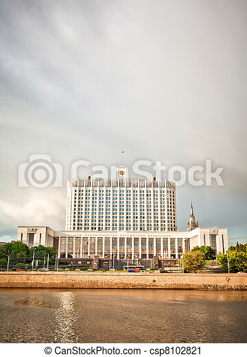 House of government in Moscow - csp8102821