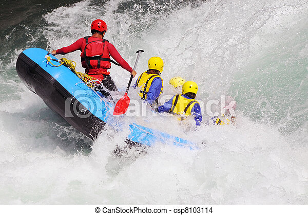 River Rafting - csp8103114