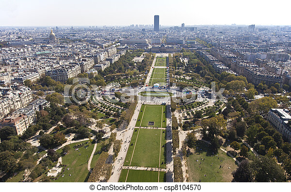 Paris View - csp8104570