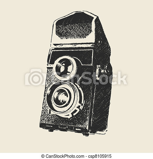 old school photography - csp8105915
