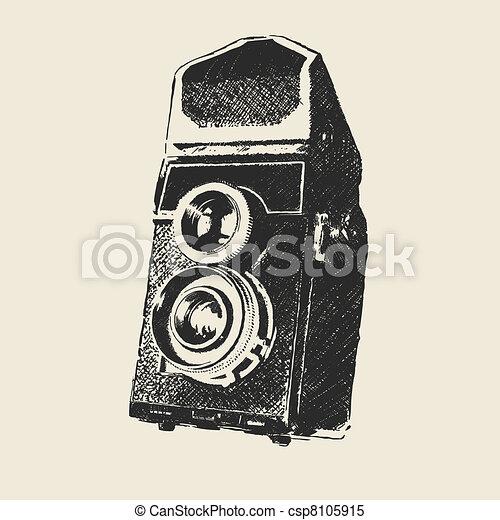 old school photography - csp8105915