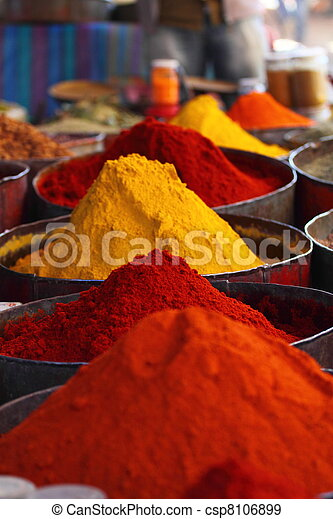 Morocco Traditional Market - csp8106899
