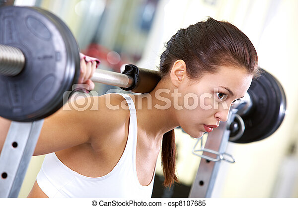 Weightlifting - csp8107685