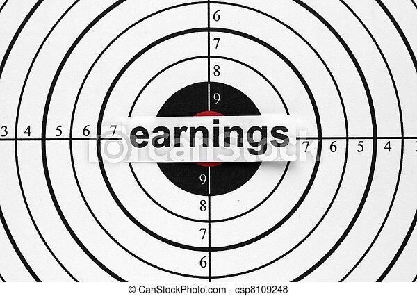 Earnings target - csp8109248