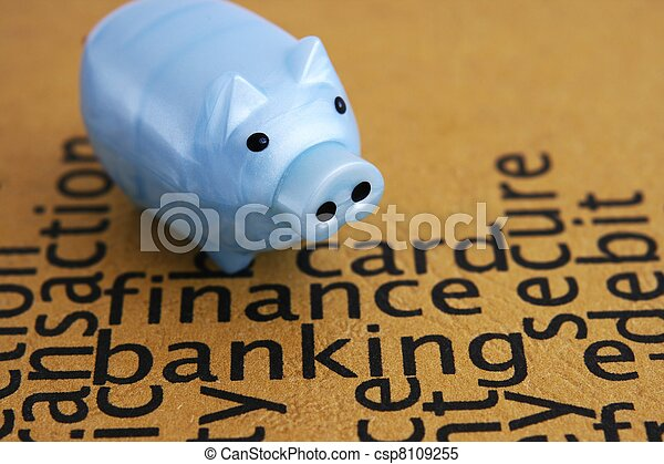 Finance and banking concept - csp8109255