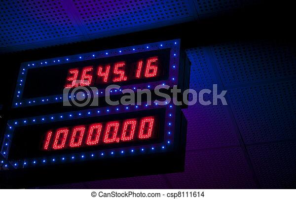 Jackpot table - csp8111614