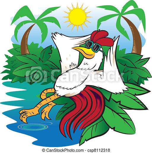 Bird of Paradise - csp8112318