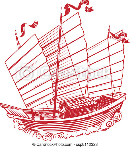 Chinese Junk Chinese Junk an Asian Style