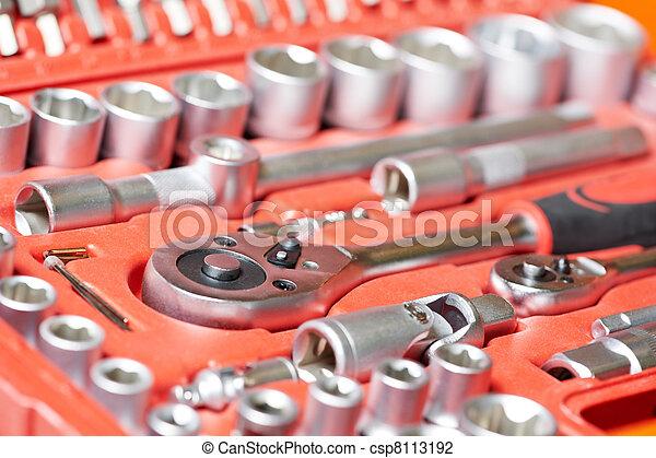 automobile repair mechanic tool Wrench Set - csp8113192