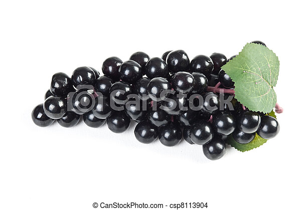 fake bunch of grapes - csp8113904