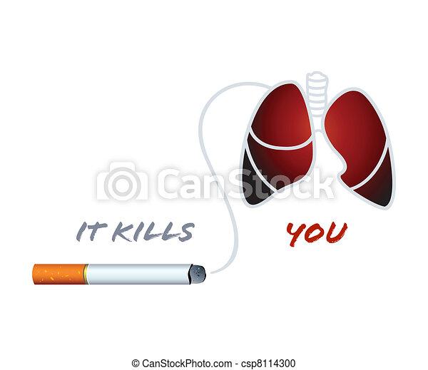 Smoking kills - csp8114300