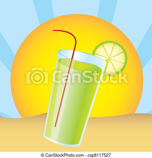 lemonade juice - csp8117527