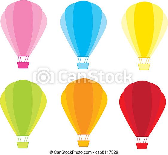 Hot air balloons - csp8117529